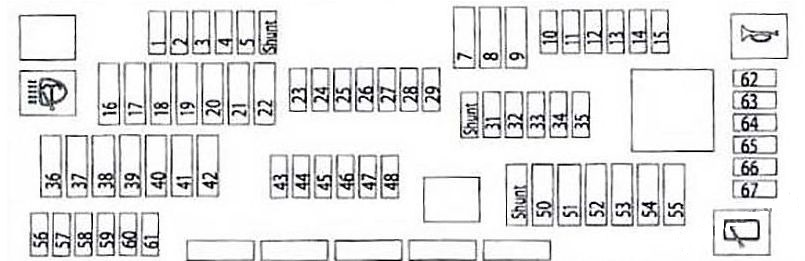 Fuse Box Diagram 1990 Bmw 730i Wiring Diagram