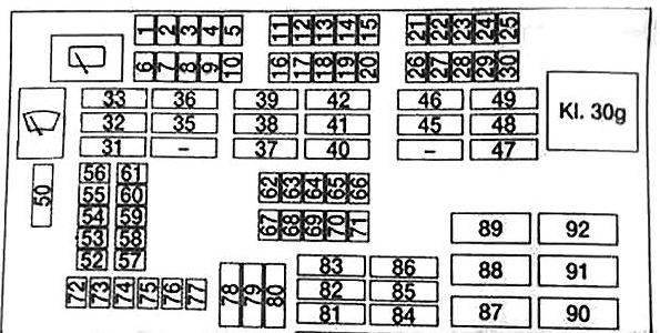 2015 bmw x1 fuse box diagram