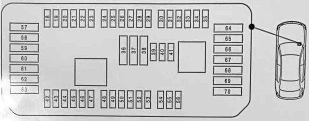 BMW X5 (F15; 2014 - 2019) - fuse box diagram - Auto Genius