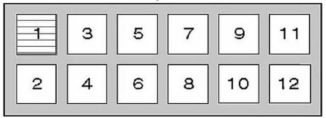 Nissan Patrol (1997 - 2003) - fuse box diagram - Auto Genius