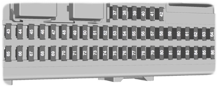 Ford Focus (1999 - 2007) - fuse box diagram (EU version) - Auto Genius