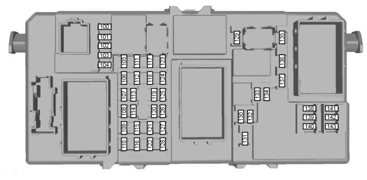 Ford Kuga (2008 - 2012) - fuse box diagram - Auto Genius