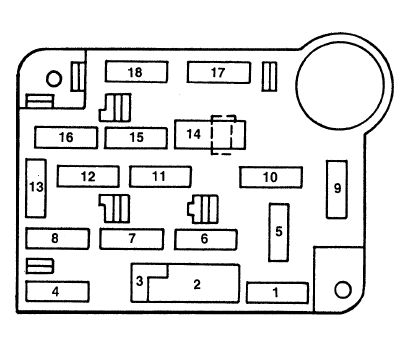 1998 range rover fuse box diagram