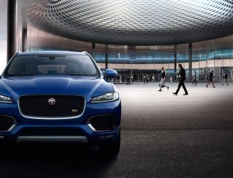Jaguar's F-Pace is Heading to India May 2016