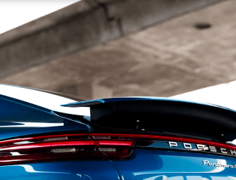 The New Panamera Turbo Has a Crazy Spoiler