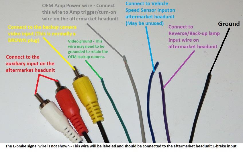 auto audio wire harness
