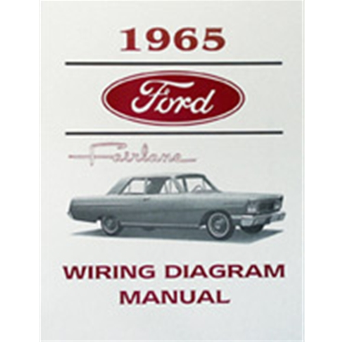 1965 Ford Fairlane WIRING DIAGRAM - 65 FAIRLANE