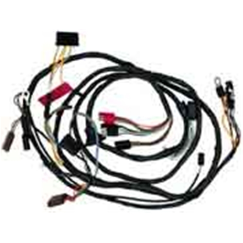 WIRING HARNESS 1968 FORD MUSTANG WITH TACH NO FOG LAMPS FIREWALL-TO