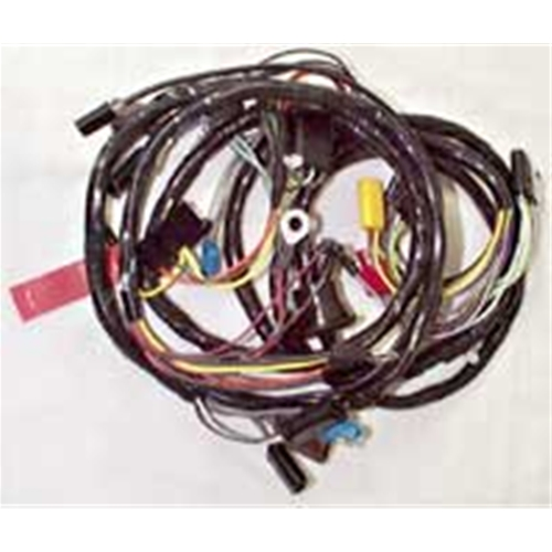 WIRING HARNESS 1968 FORD MUSTANG NO TACH WITH FOG LAMPS FIREWALL-TO