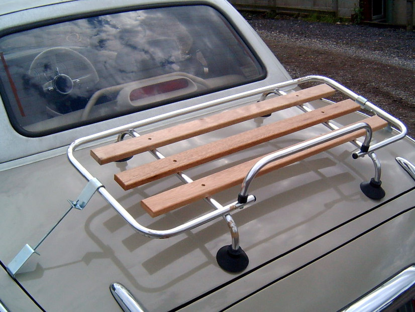 Boot Luggage Rack Stainless Steel Wood Nissan Figaro S S
