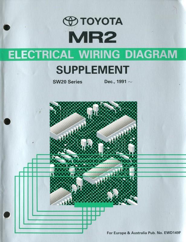 1991 Mr2 Wiring Diagram Wiring Diagram