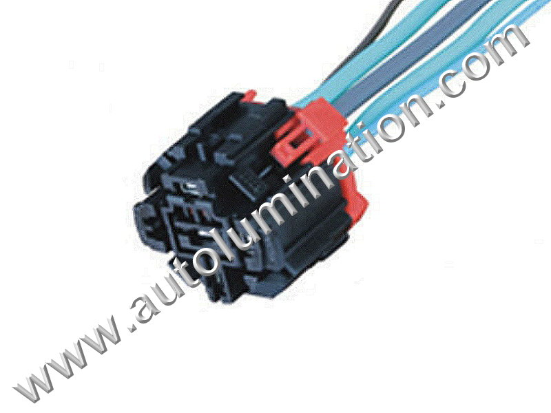 5Pin Relay Socket Adapter 45501E225 Distributor Wiring Pigtail Connector