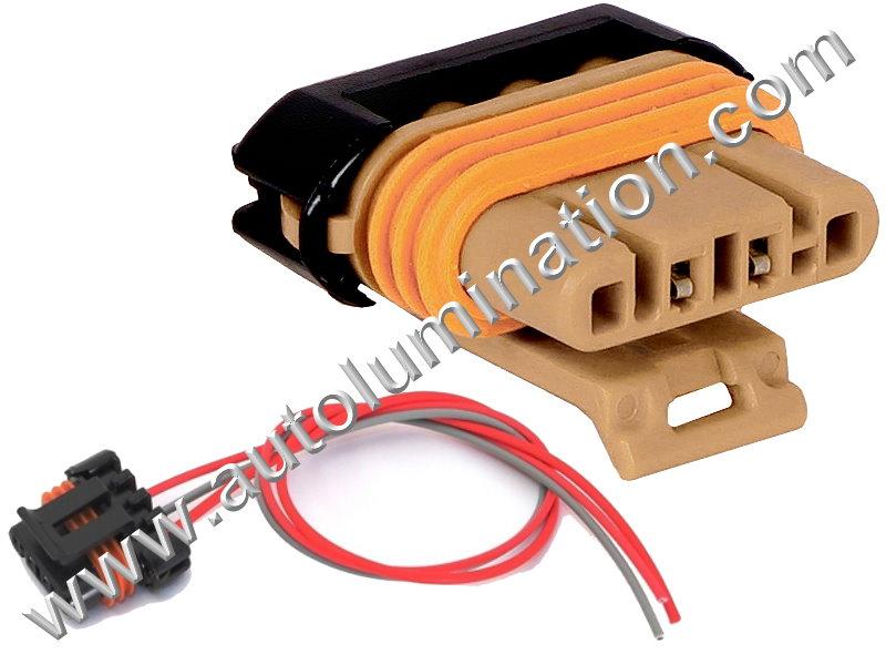 Alternator Wiring Harness Connector Pigtail LS1 LS2 LS3 LS6 LS7 Corvette