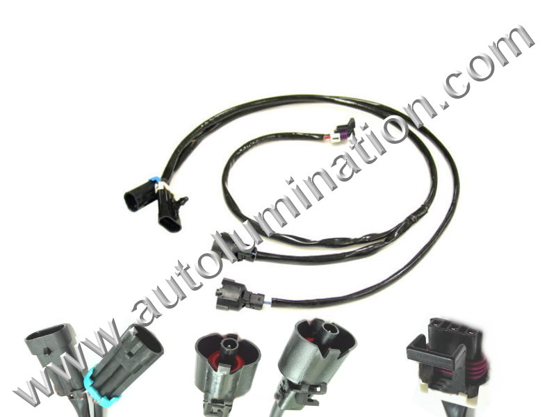 ls wiring harness connectors