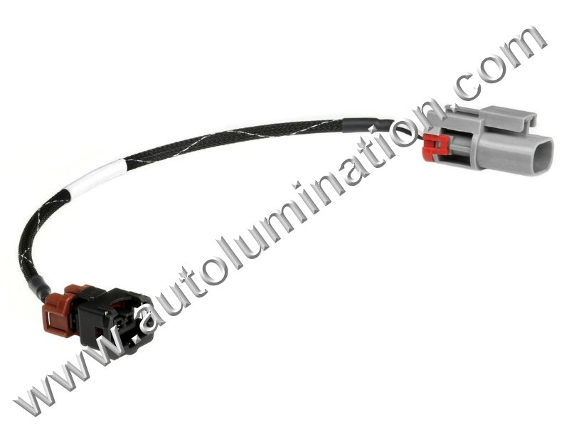auto wiring harness connectors male