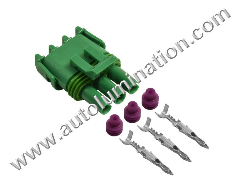 Throttle Body Position Indicator Sensor TPI TPS Connectors