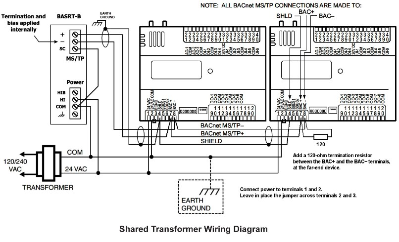 bacnet wiring diagram