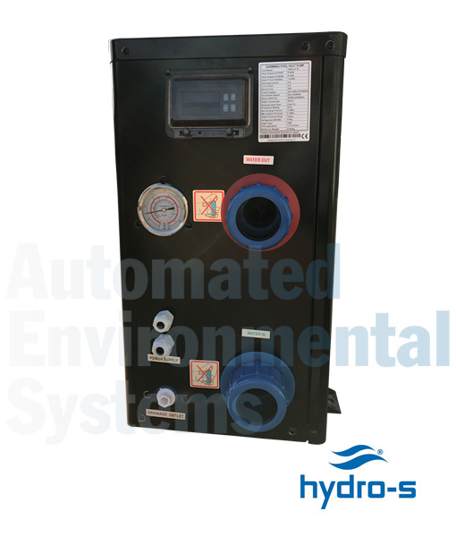 Hydro-S Swimming Pool Heat Pump (Hydro-S 3, 5, 8, 10  12) - AES