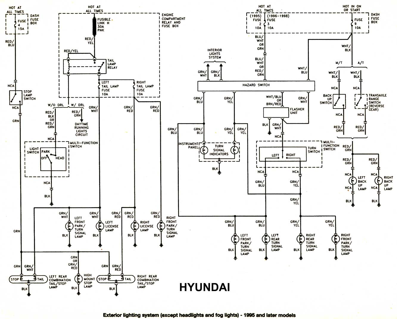hyundai accent injector wiring diagram