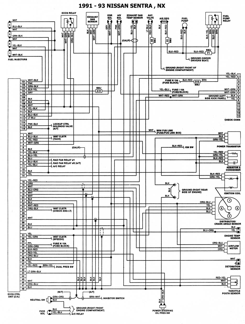 2004 Jeep Grand Cherokee Cooling Fan Wiring Diagram : Wiring diagram for nissan sentra radiator fans