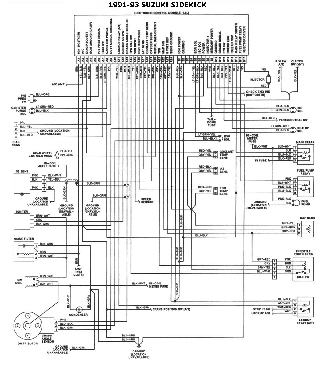 diagrama de honda cr v 2004 relay
