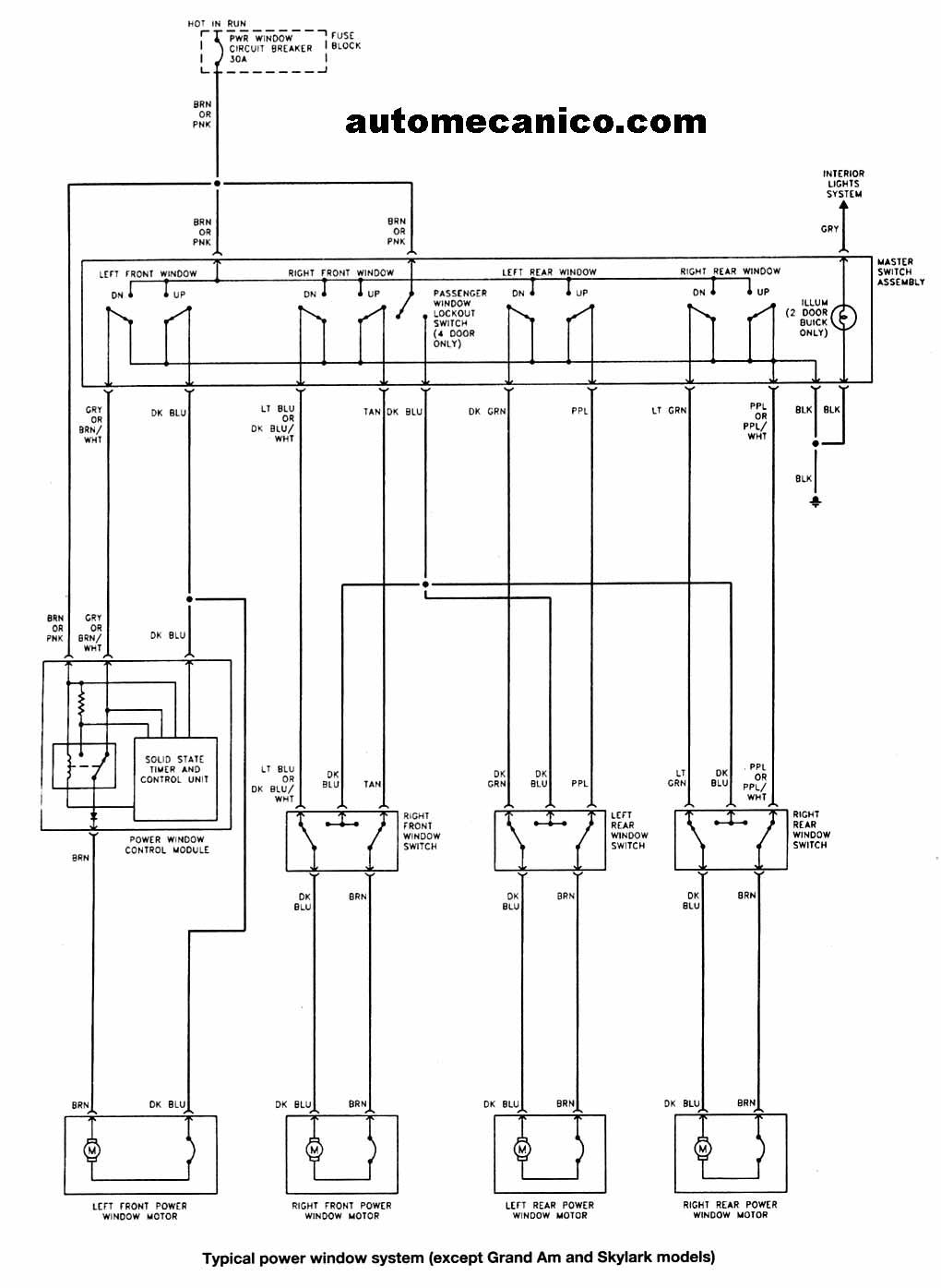 2004 deville Diagrama del motor
