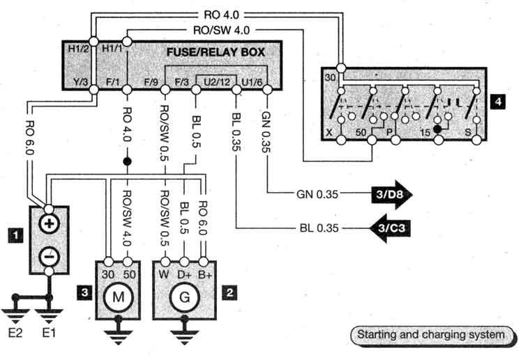 cooling components diagrama de cableado