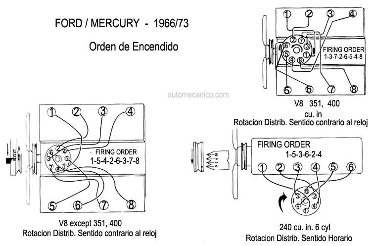 ford 302 firing order