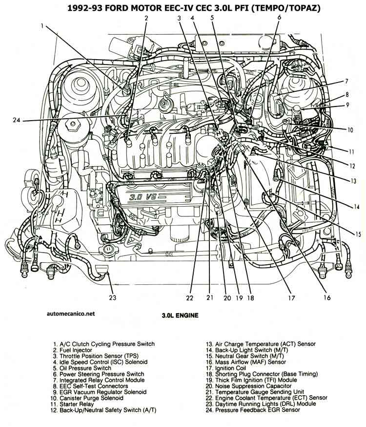 1990 ford tempo wiring diagram free download