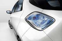 Le feux arrière de la Renault ZOE