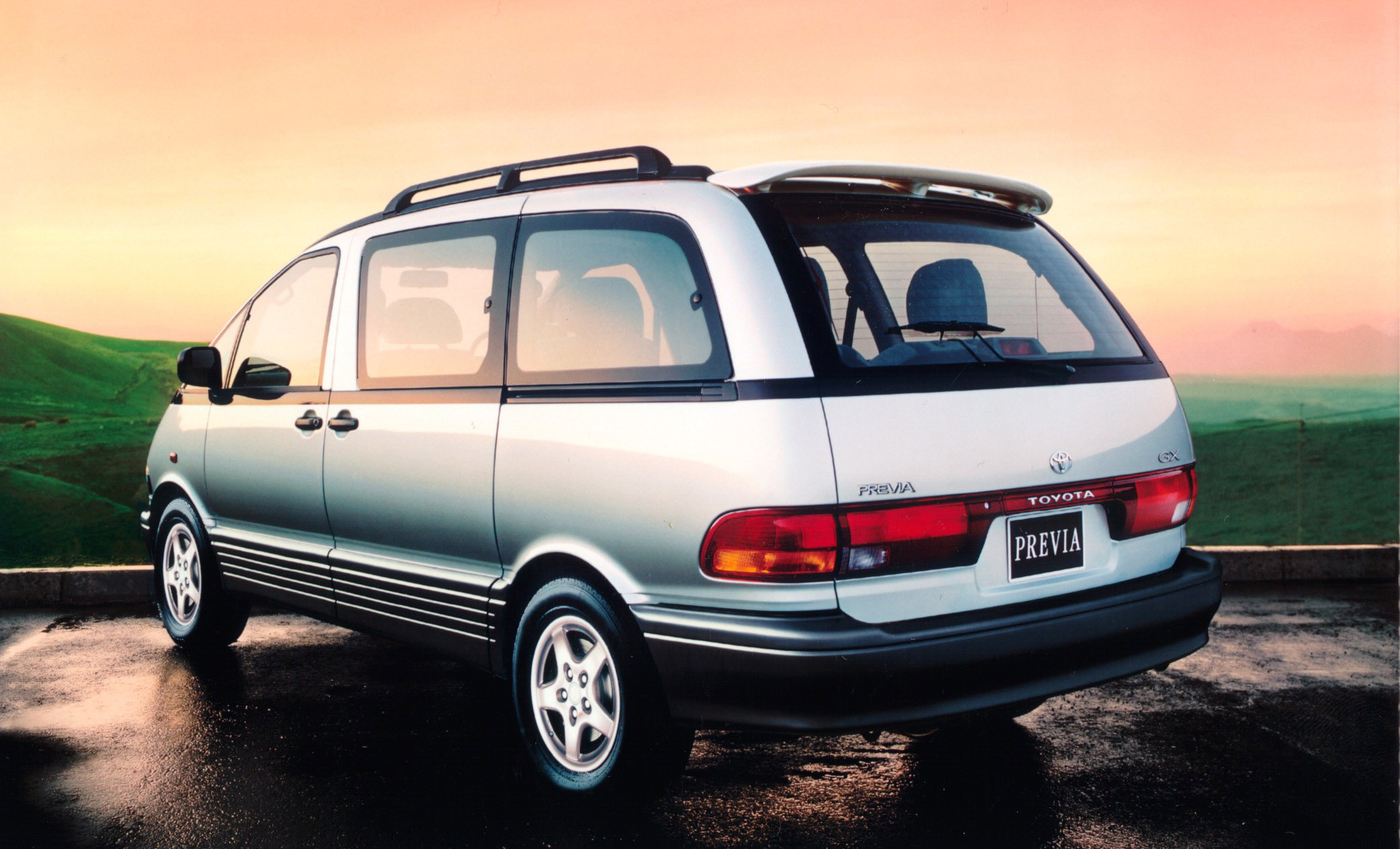 Bmw Car Images Wallpaper 1998 Toyota Previa Picture 76723