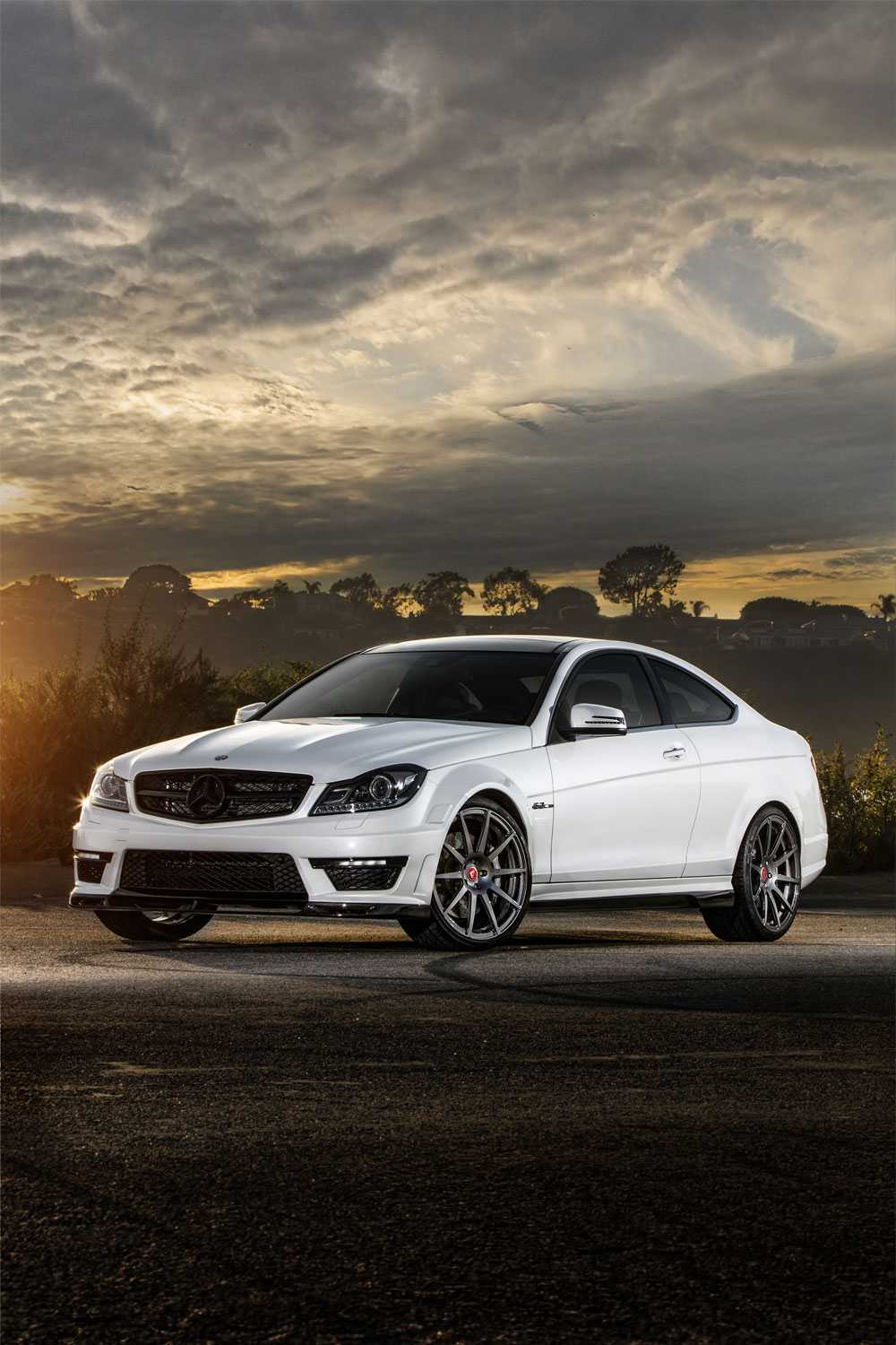 Exclusive Car Wallpapers Vorsteiner Mercedes Benz C63 Amg With New Outdoor Photoshoot