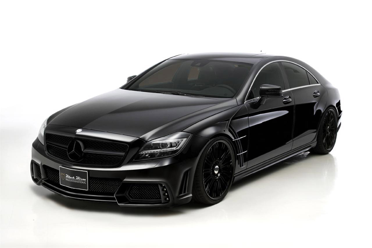 Black Car Wallpapers For Mobile 2012 Wald Mercedes Benz Cls Black Bison