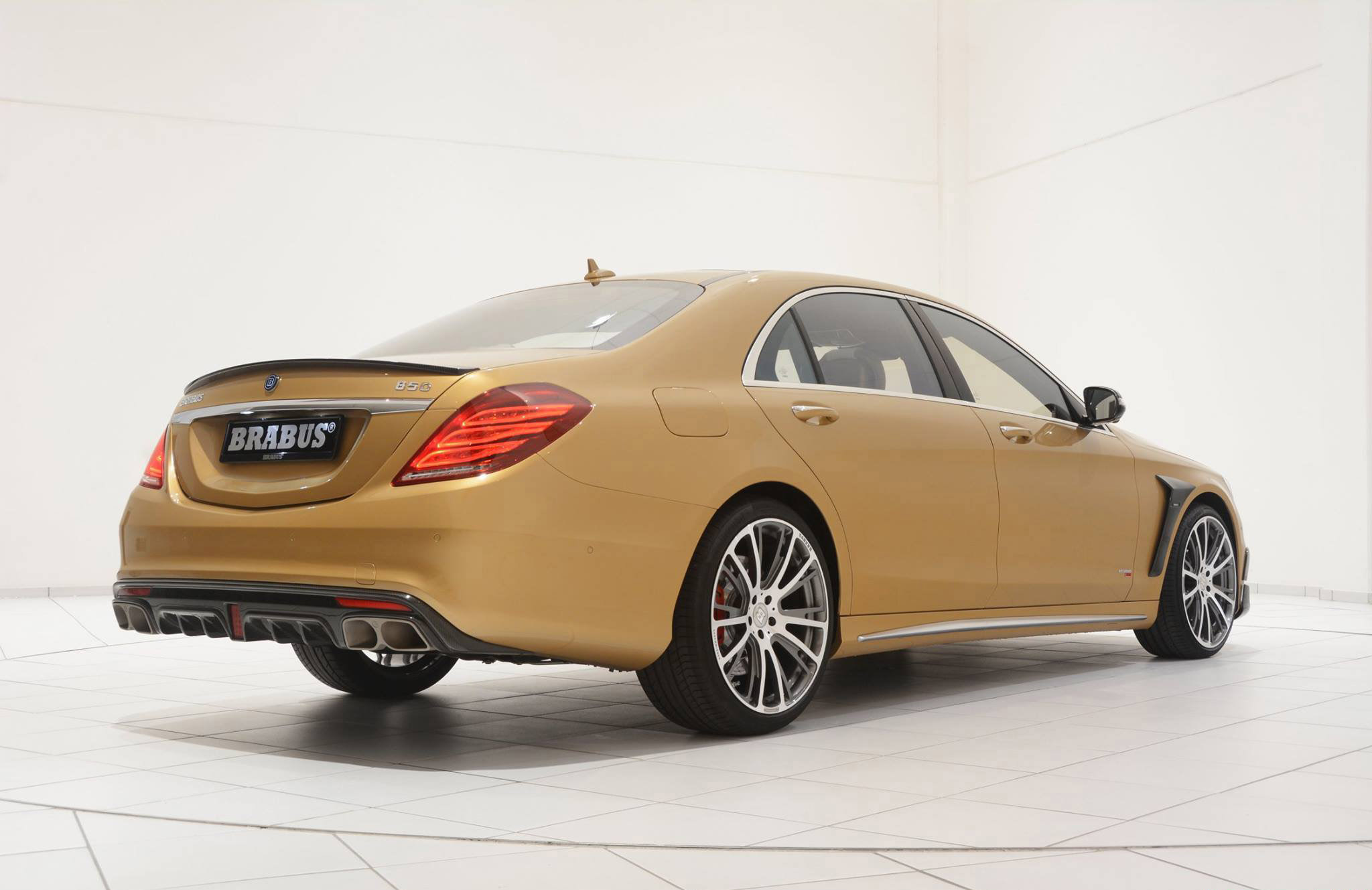 Black Car Wallpapers For Mobile Mercedes Benz S63 Amg Reworked By Brabus