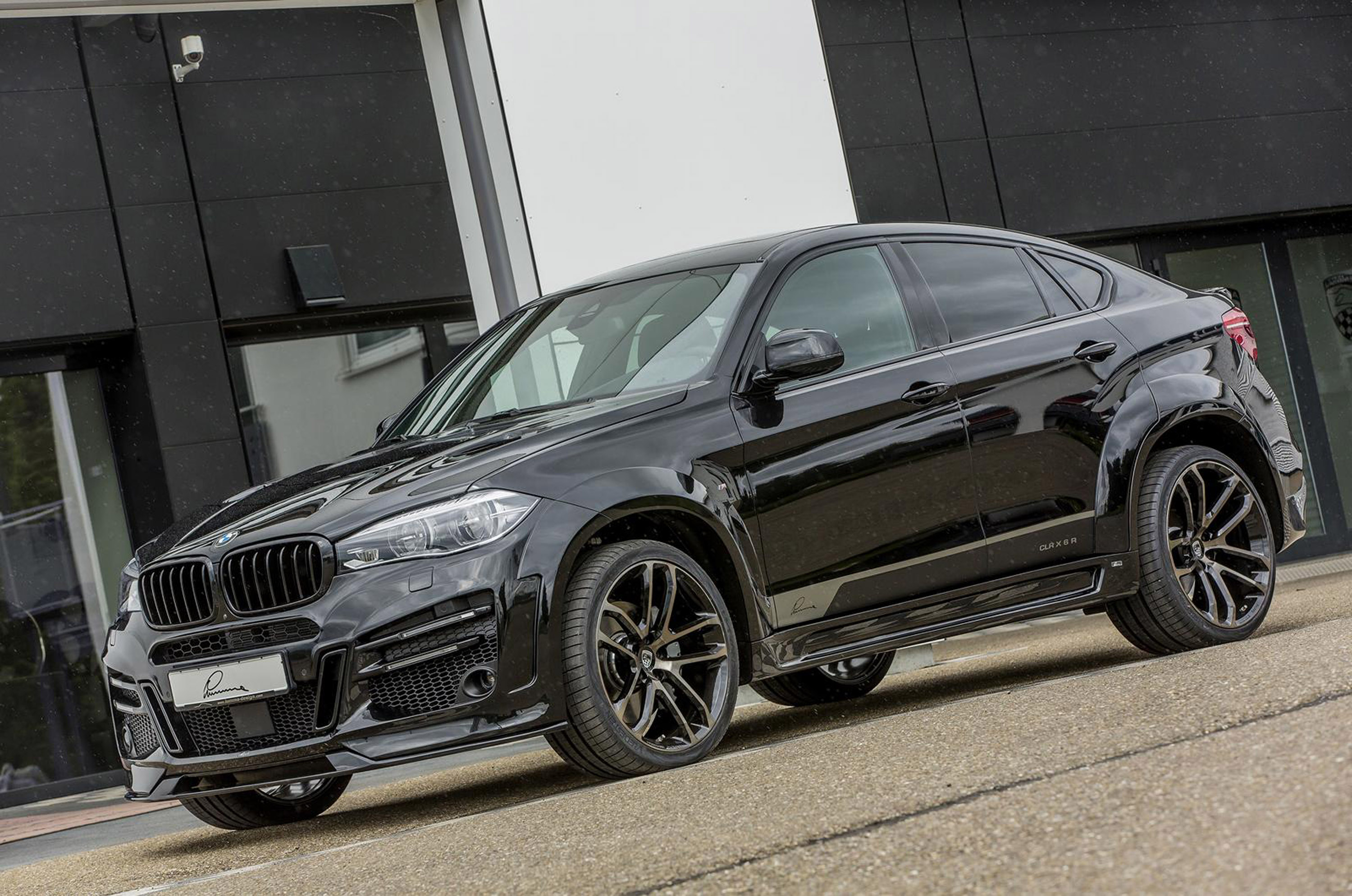 Badass Car Wallpapers Bmw X6 Clr X6r Is Here To Demonstrate Some Massiveness And