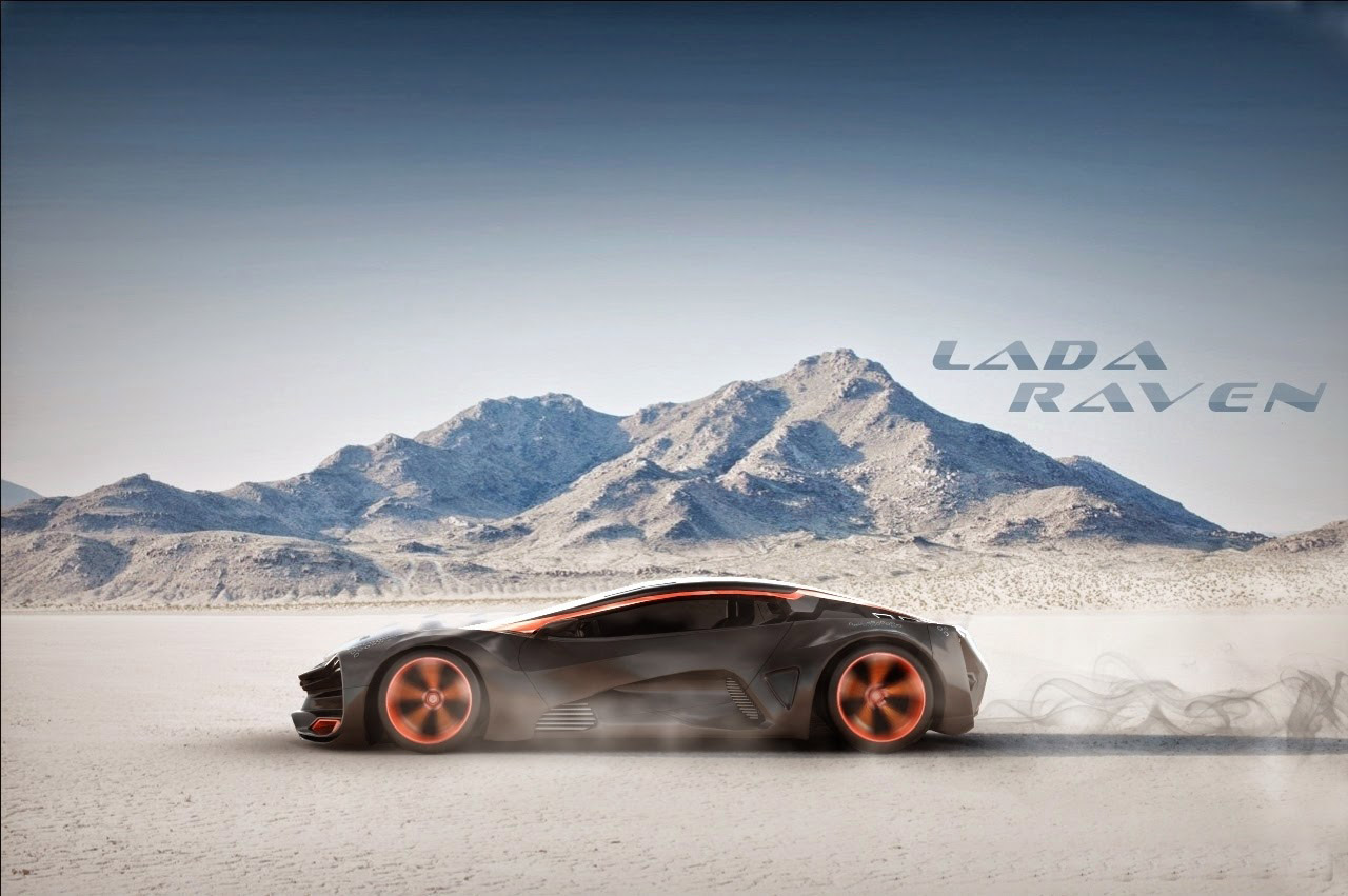 Bmw Car Wallpaper For Mobile Lada Has In Mind A Supercar Concept Video
