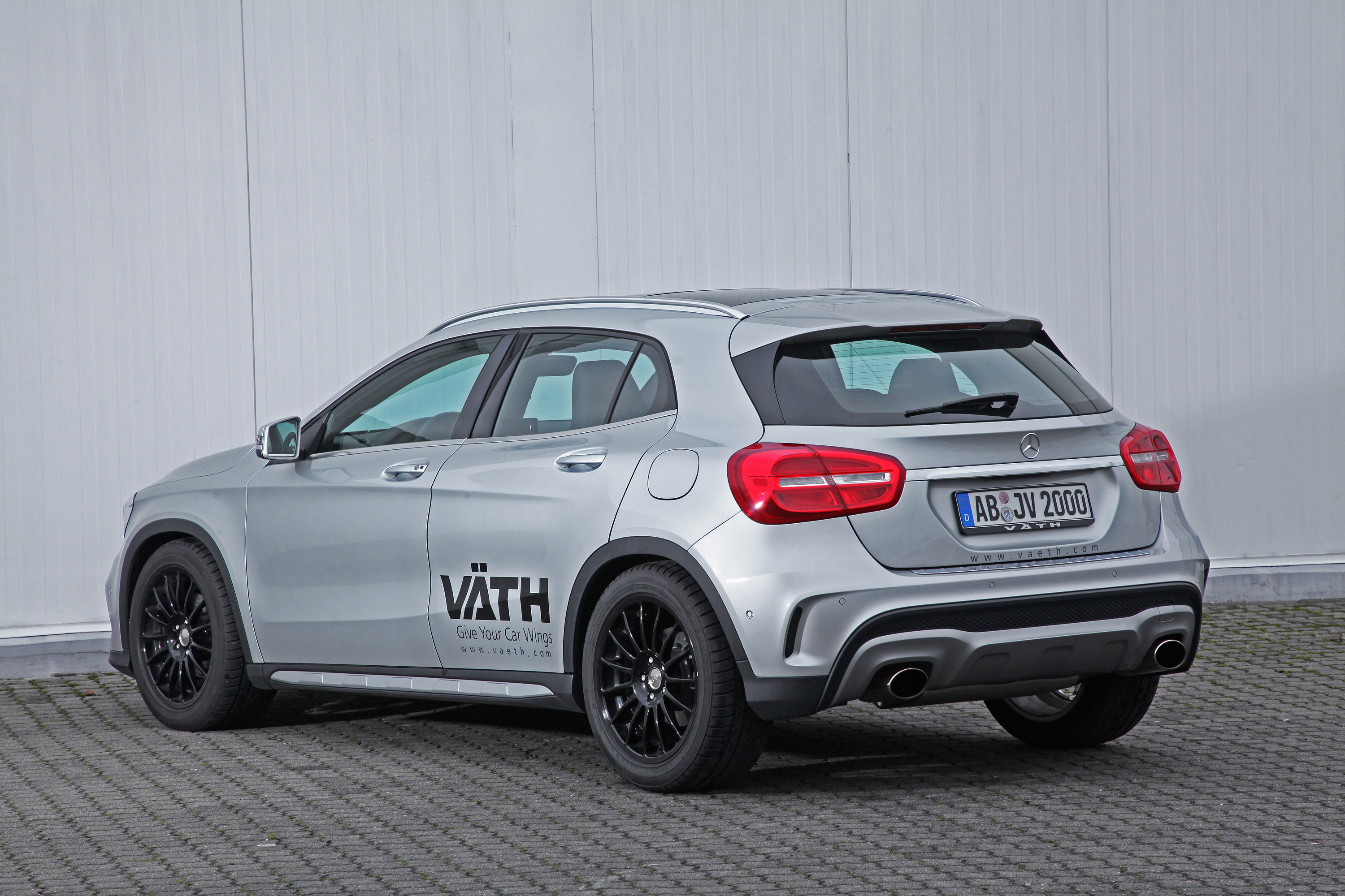 vaeth modifies mercedes