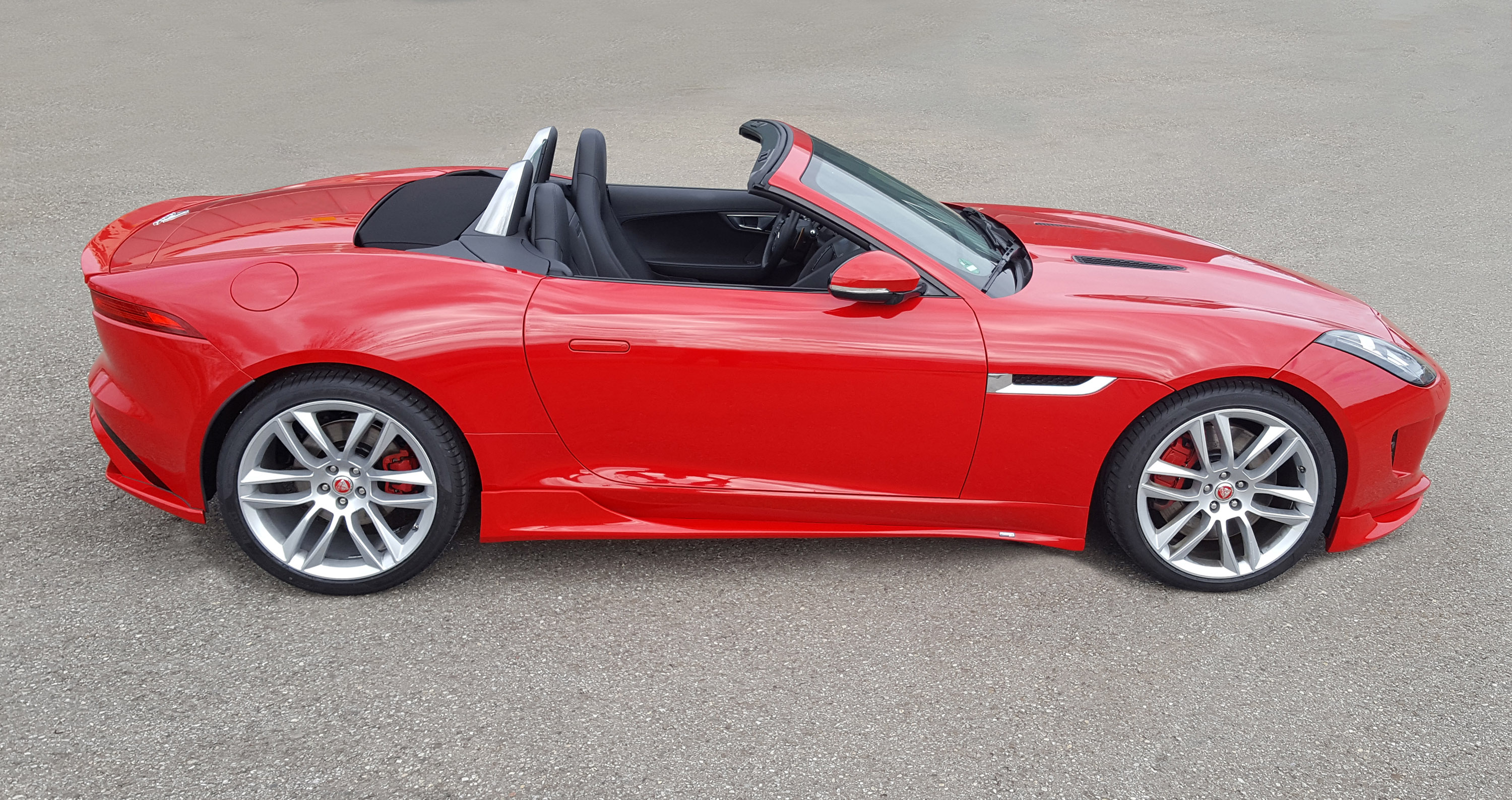 Black Car Wallpapers For Mobile Piecha Introduces Revisions For Jaguar F Type Cabrio