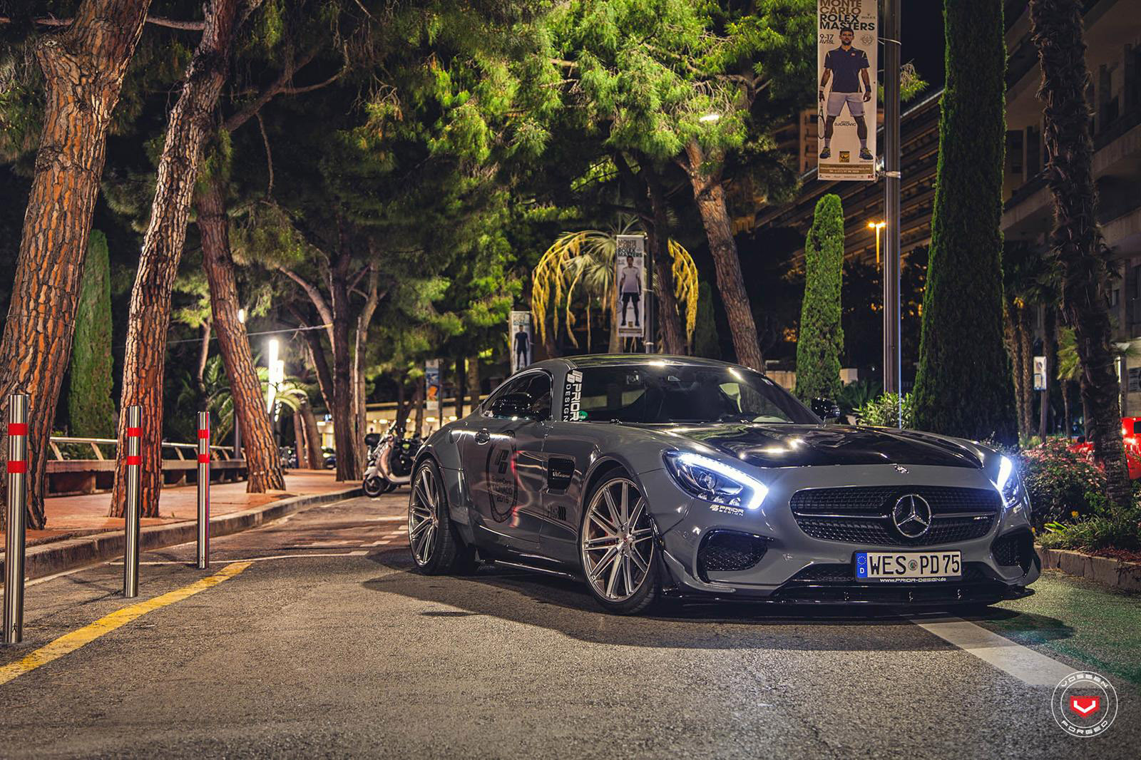 Wallpaper Hd 3d Car Prior Design Mercedes Amg Gt S Made More Perfect With