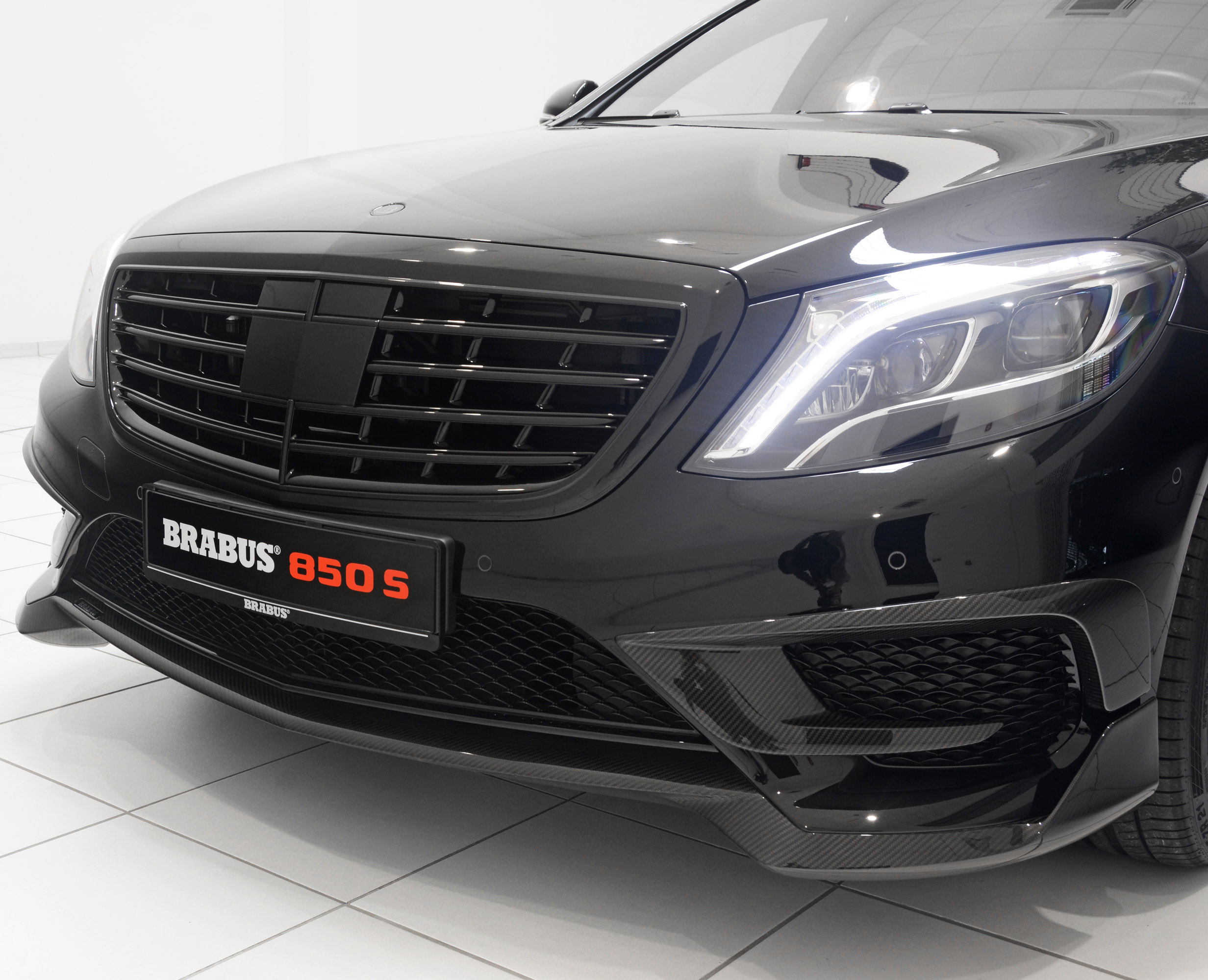 Luxury Car Interior Wallpapers Brabus 850 S Based On 2014 Mercedes Benz S 63 Amg