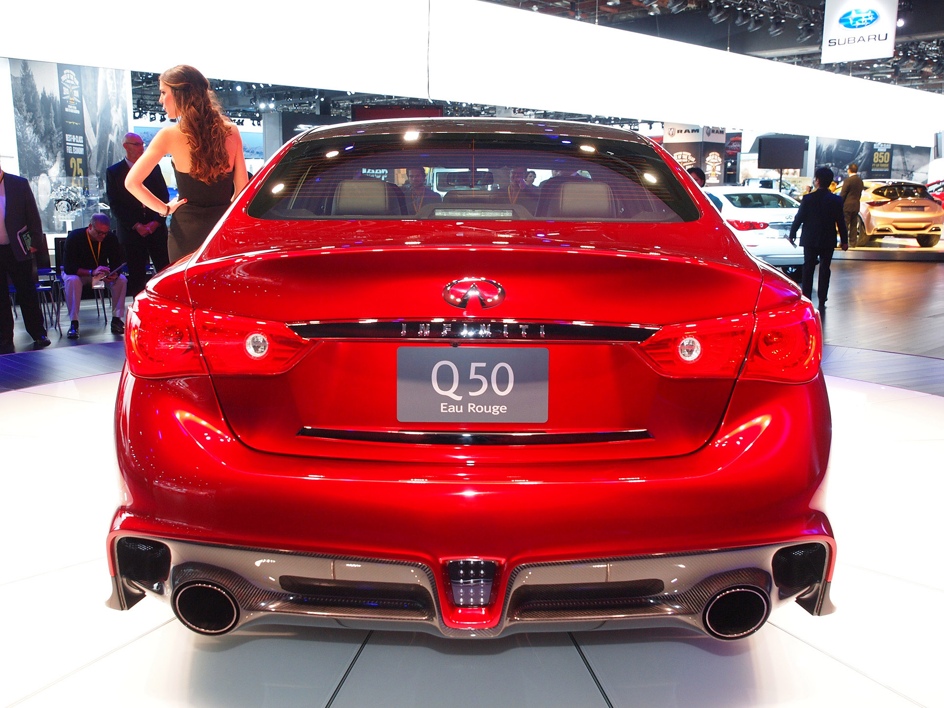 Luxury Car Interior Wallpapers Infiniti Q50 Eau Rouge At 2014 Goodwood