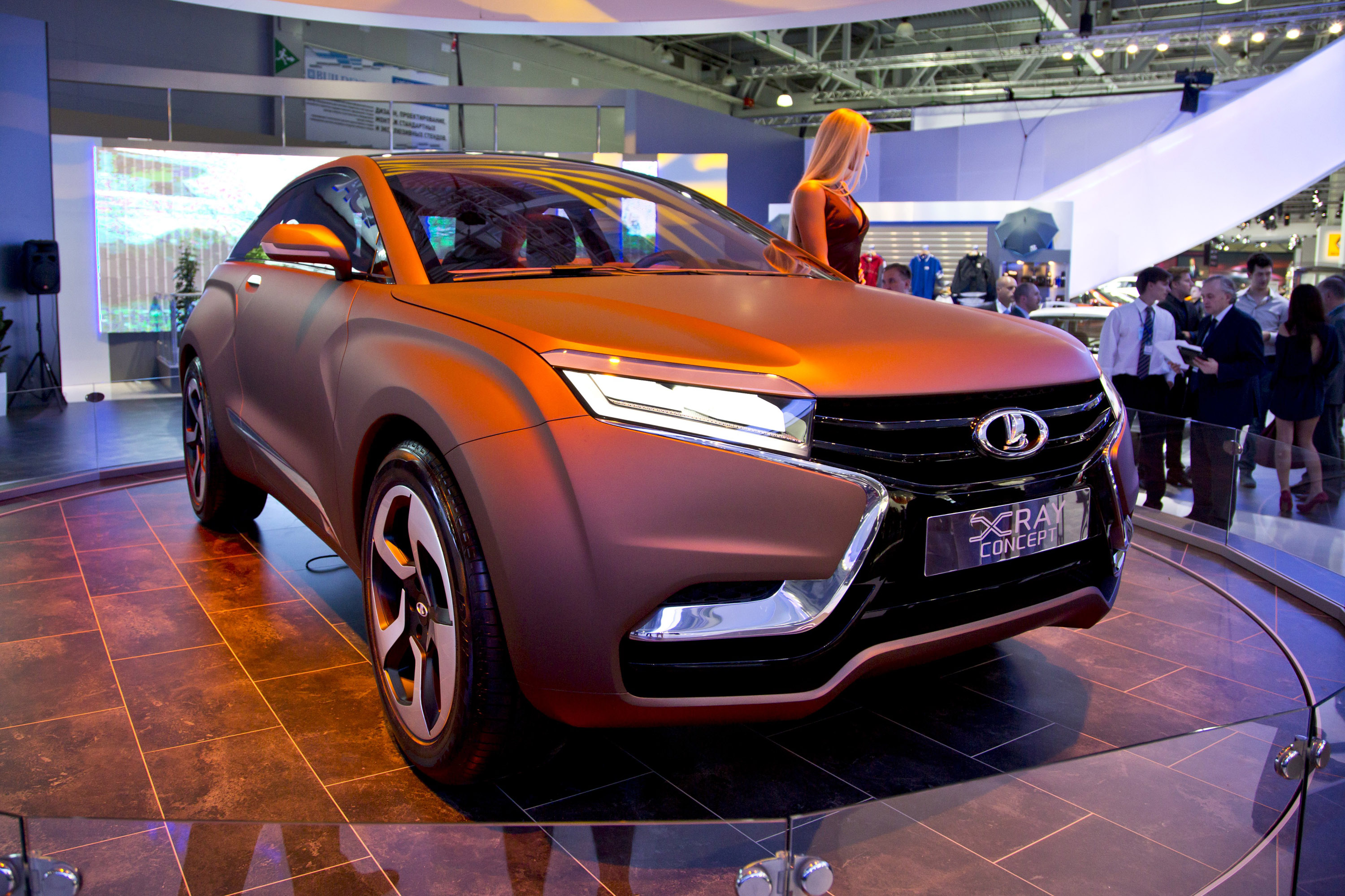 Exclusive Car Wallpapers 2013 Lada X Ray Concept World Premiere In Moscow Video