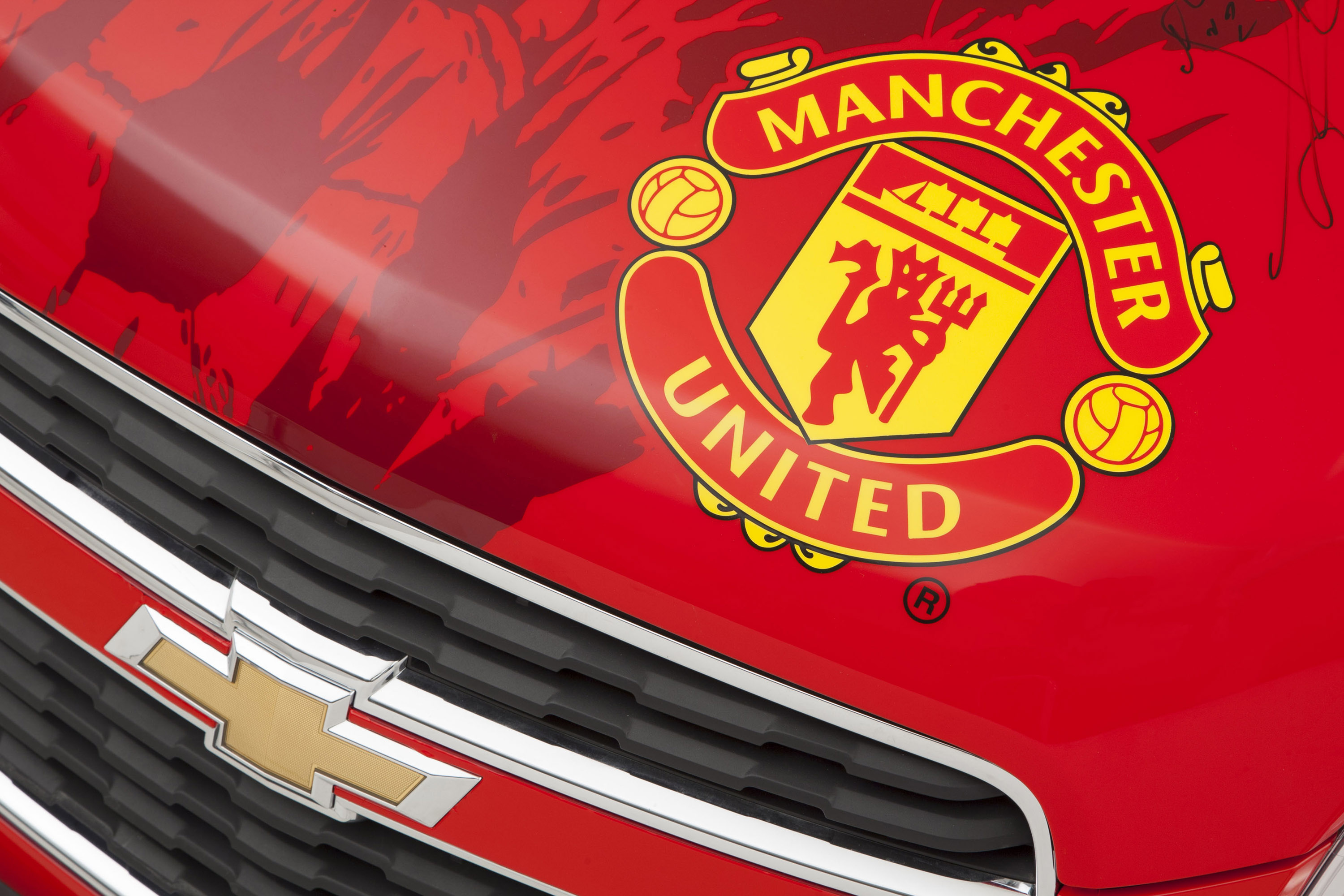 Wallpaper Hd Mu Manchester United Themed Chevrolet Trax Auction