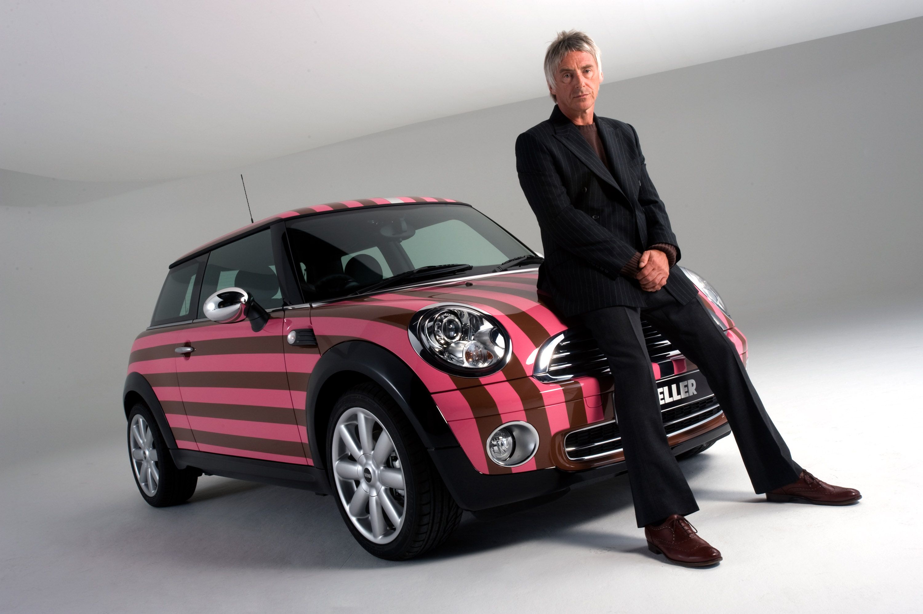 Custom Classic Car Wallpapers Paul Weller Mini Cooper A One Off Car For Charity