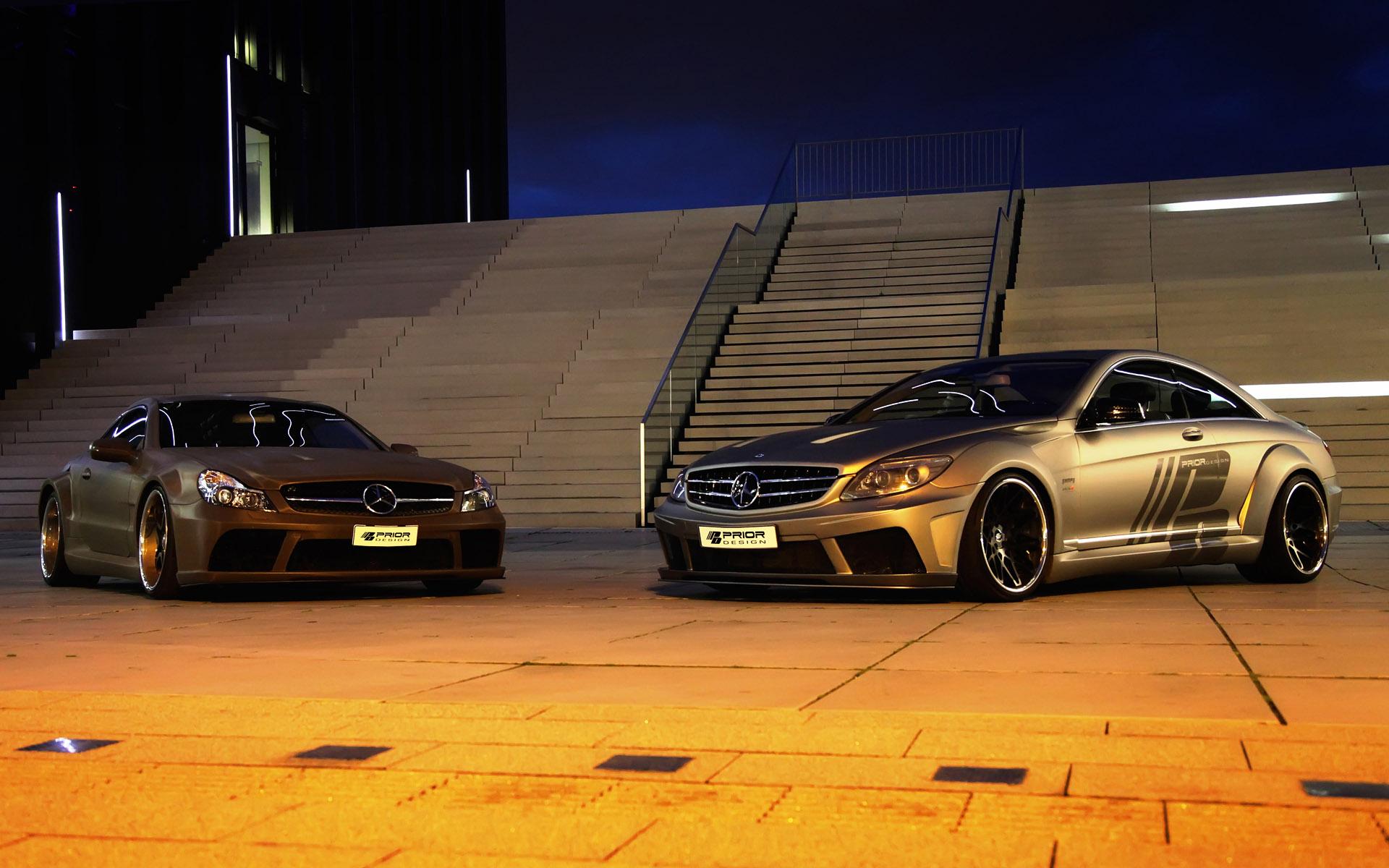 Best Car Wallpapers Ever Mercedes Cl Black Edition V2 Aerodynamic Kit By Prior Design