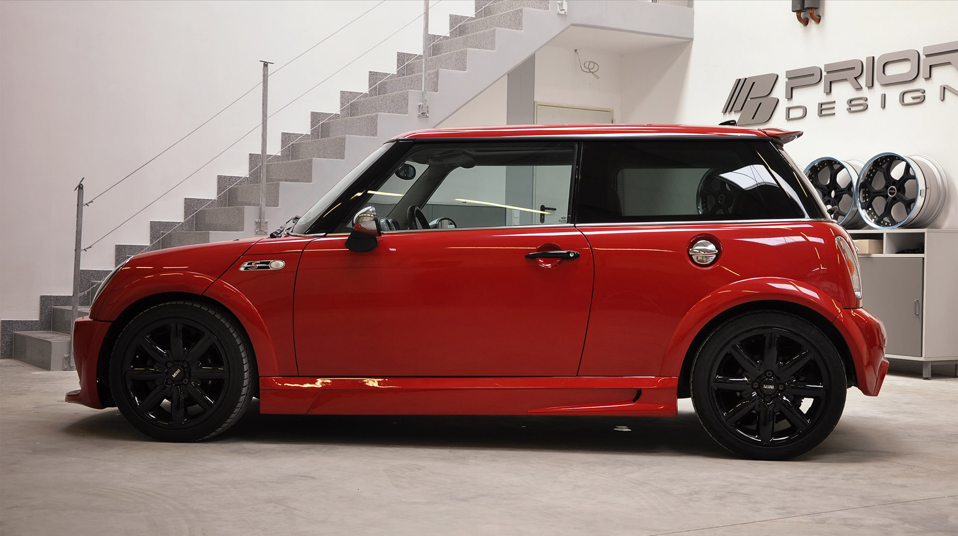 Car Wallpaper Gallery Prior Design Mini Cooper S Bodykit Picture 23746