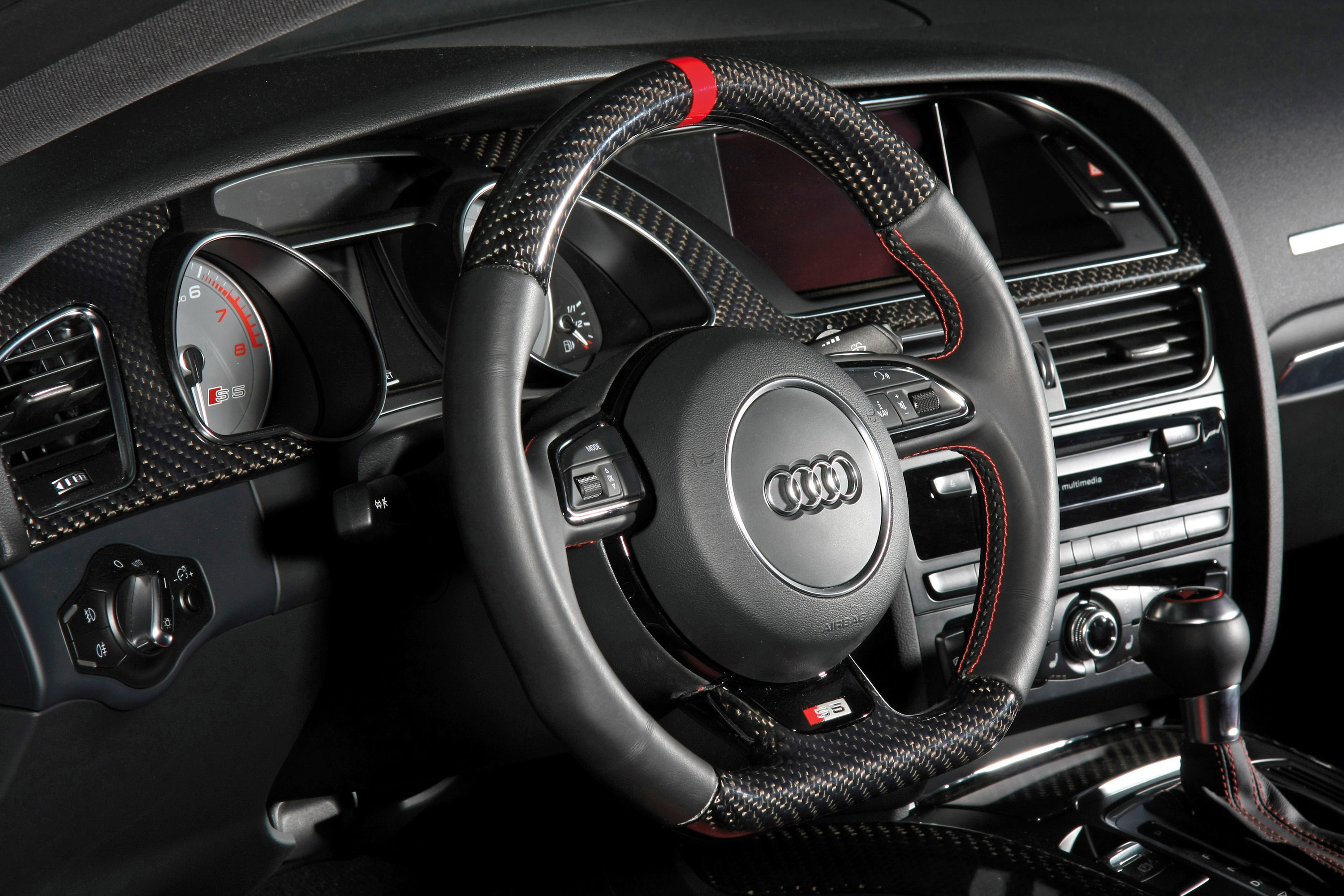 Audi White Car Wallpapers Senner Tuning Adds More Carbon To The Audi S5 Coupe
