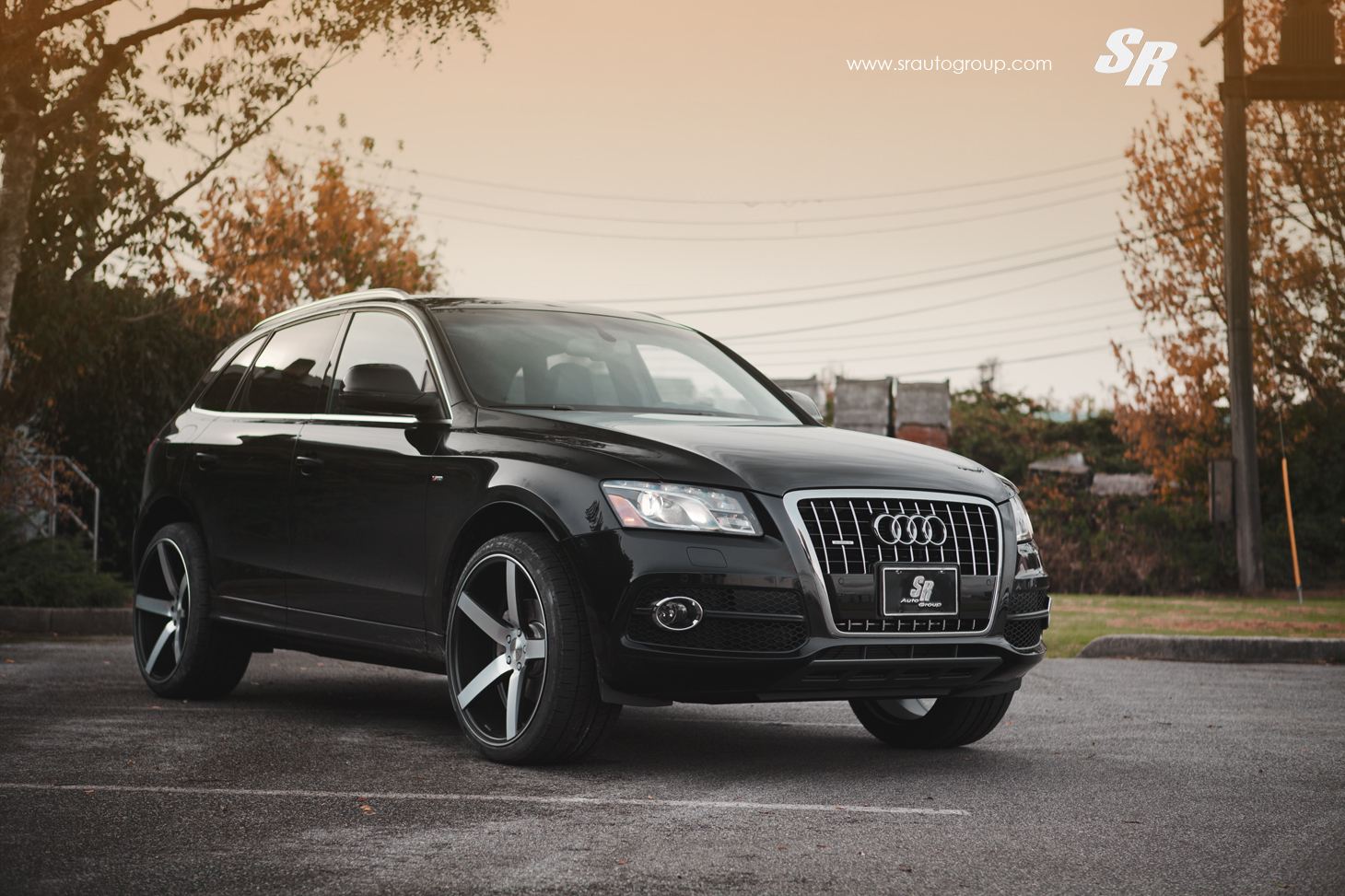 Black Car Wallpapers For Mobile Sr Auto Audi Q5 Vossen Cv3 Versatility In Action