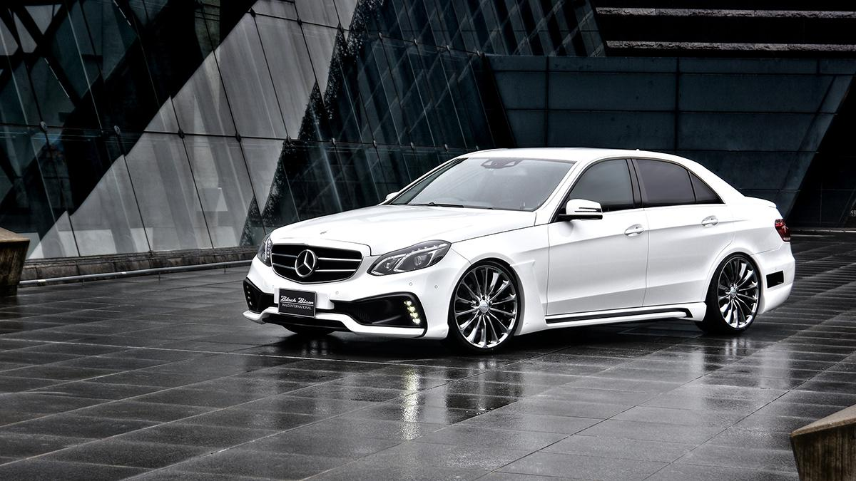 Exclusive Car Wallpapers Wald 2014 Mercedes Benz E Class Black Bison Edition