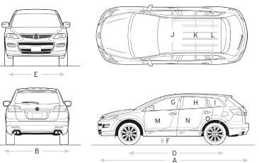 Mazda Cx 9 Interior Dimensions Brokeasshomecom
